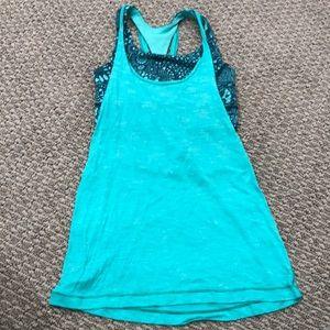 Lulu lemon tank top w/built in sports bra